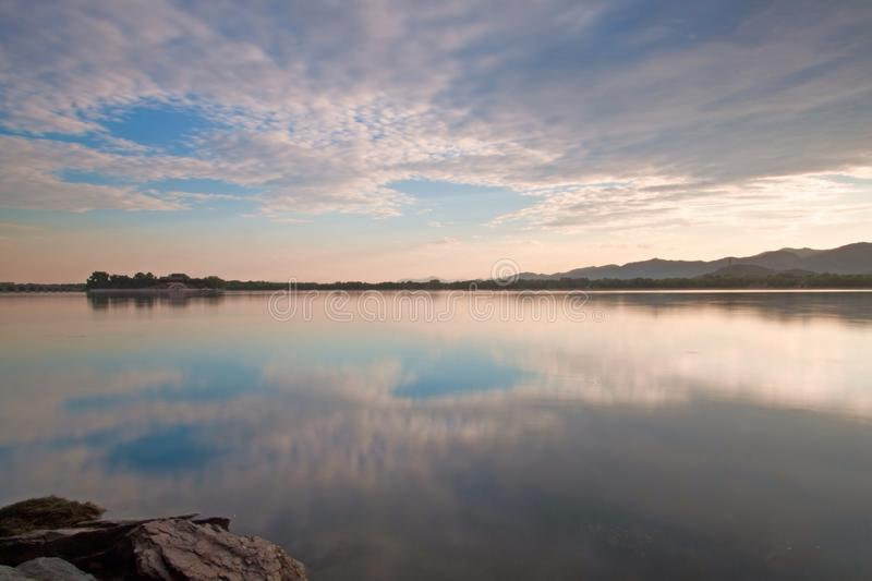 The Kunming lake. In Summer royalty free stock photography