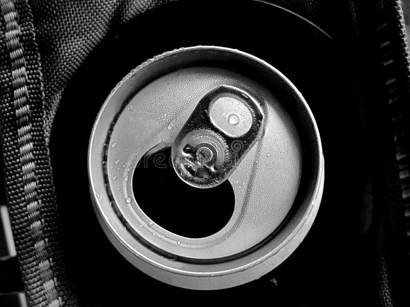 Kunna av monokrom stil för öl royaltyfri foto