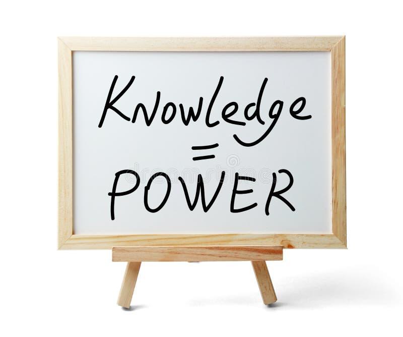 Kunskap är ström royaltyfria foton
