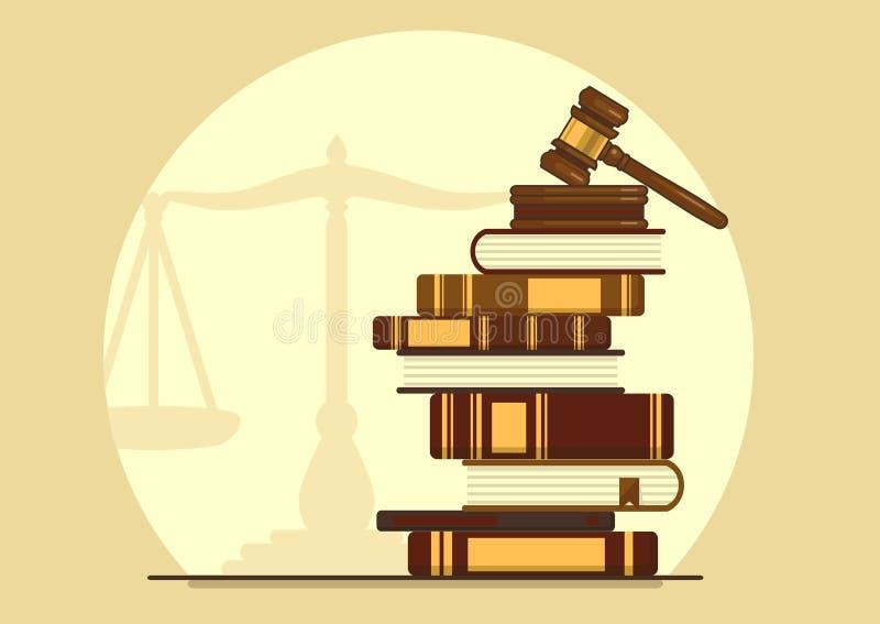 Kunskap av lagen vektor illustrationer