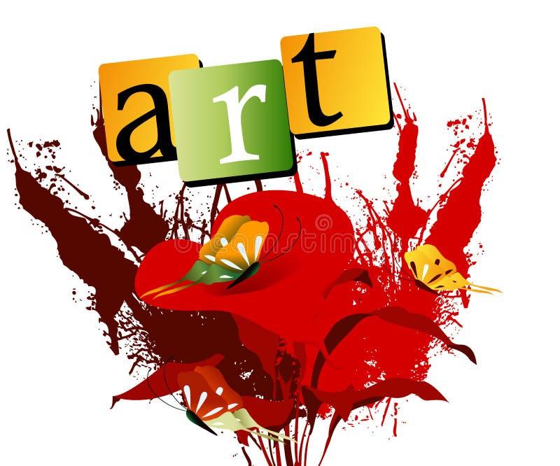 Kunst 01 stock abbildung