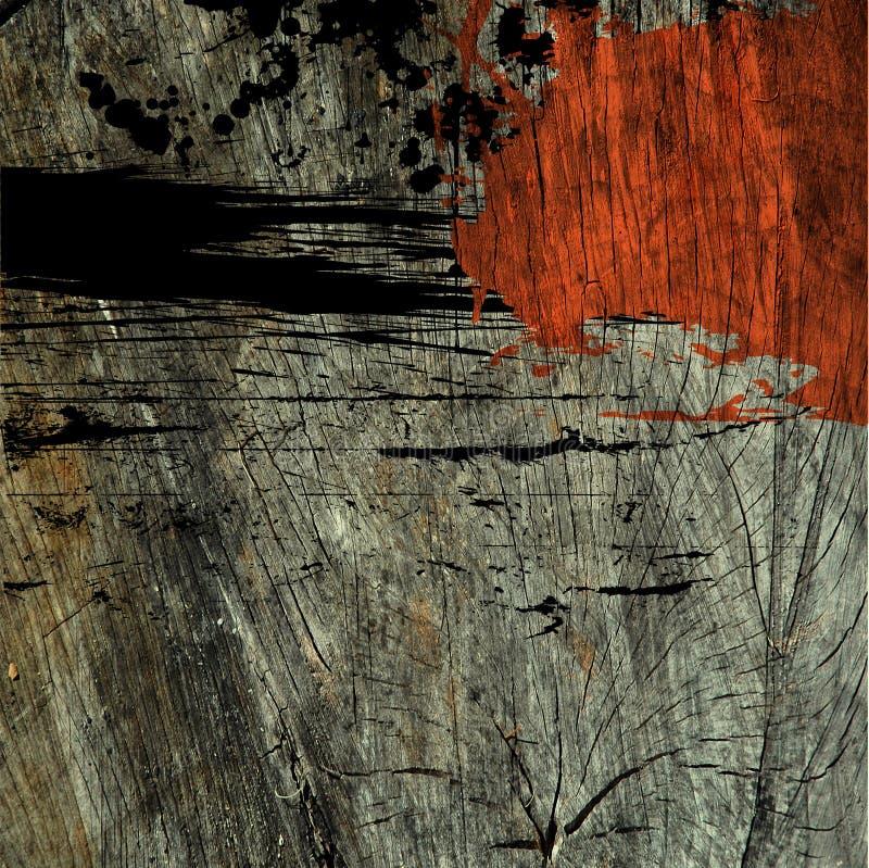 Kunst abstrakter grunge Beschaffenheitshintergrund stock abbildung