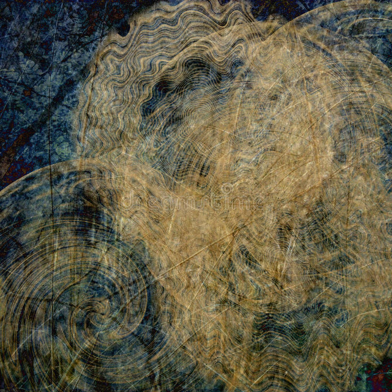 Kunst abstrakter grunge Hintergrund vektor abbildung