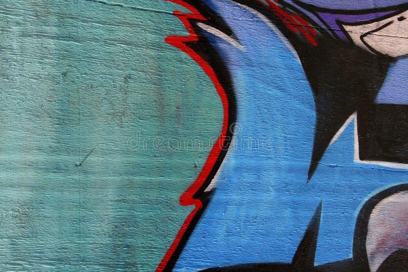 Kunst auf hölzernem Zaun lizenzfreies stockbild