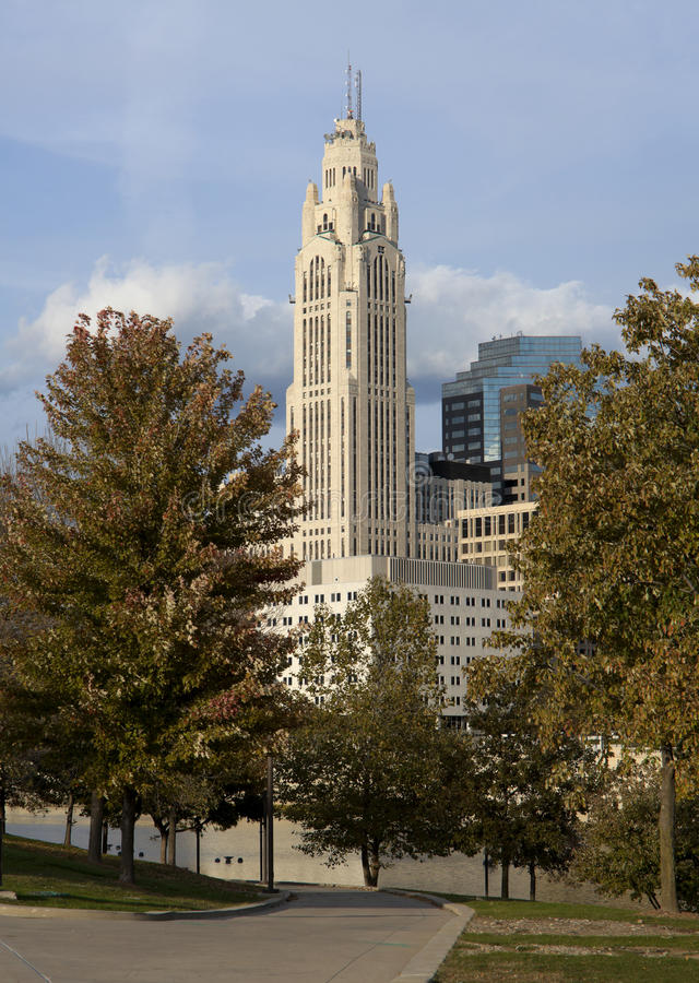Kunst Deco-Art Gebäude stockfoto