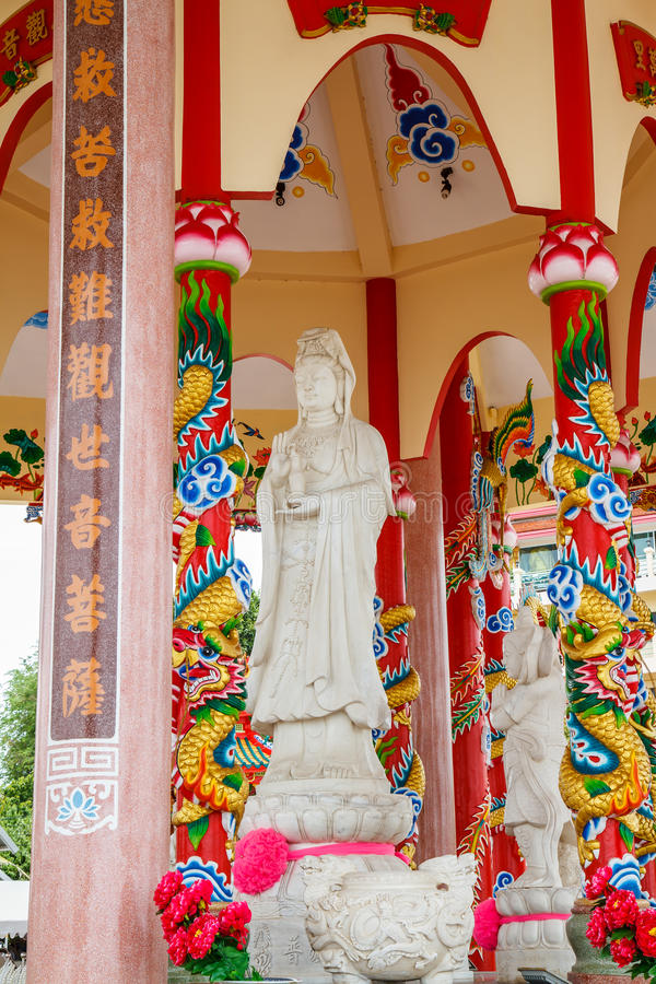 Kunst in einem chinesischen Tempel lizenzfreies stockfoto