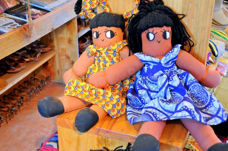 Kunst en ambacht in Tanzania royalty-vrije stock afbeeldingen