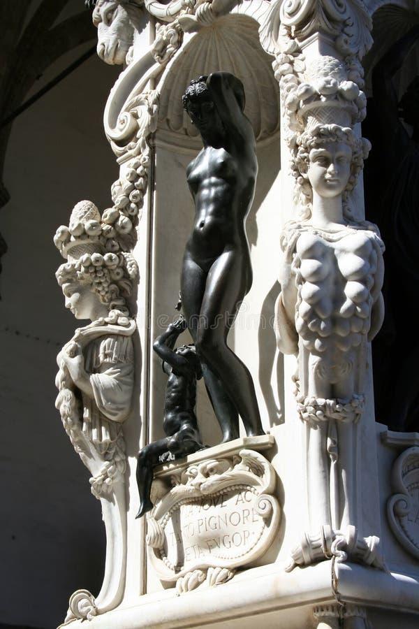 Kunst in Florenz lizenzfreies stockbild