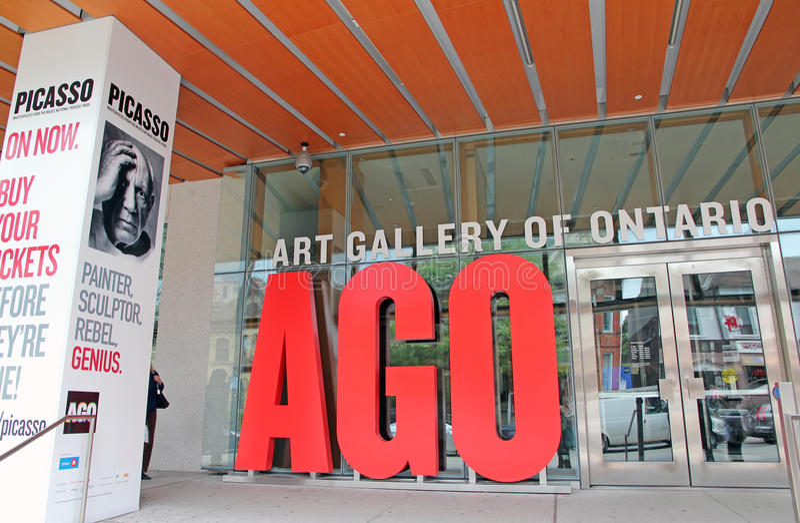 Kunst-Galerie von Ontario stockbilder