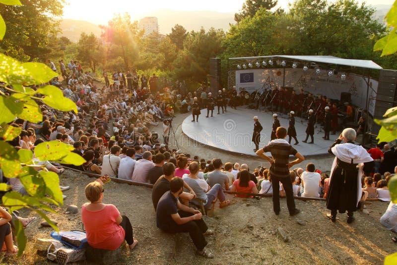 Kunst-Gen-Festival lizenzfreie stockfotos