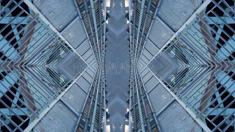 Kunst grafisch ontwerp van stedelijke structuur vector illustratie