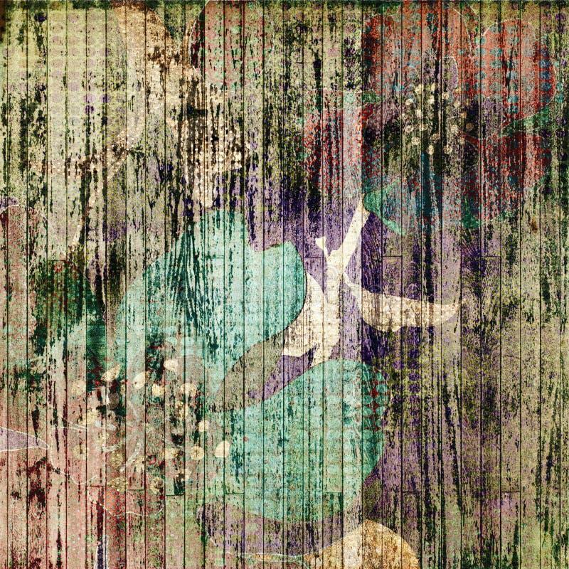 Kunst grunge Auszugshintergrund vektor abbildung