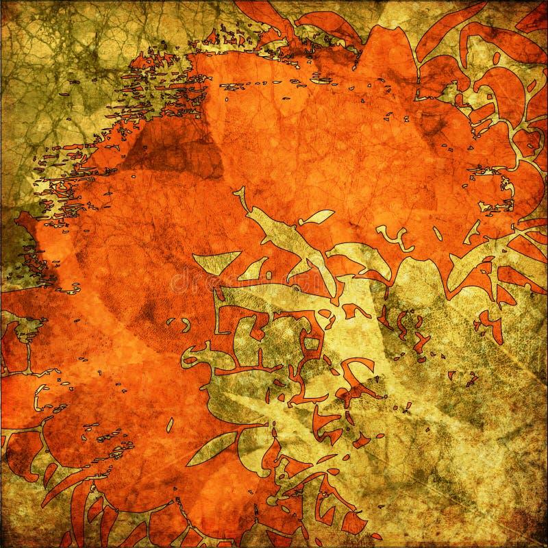 Kunst grunge Grafikhintergrund vektor abbildung