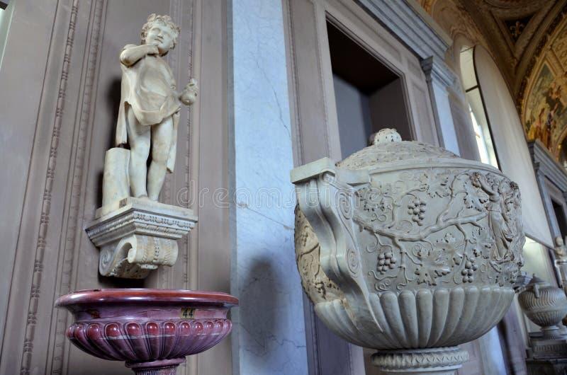 Kunst im Vatikan-Museum lizenzfreies stockbild