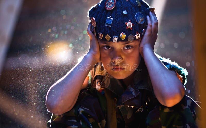 Kunst-Militär stockfoto