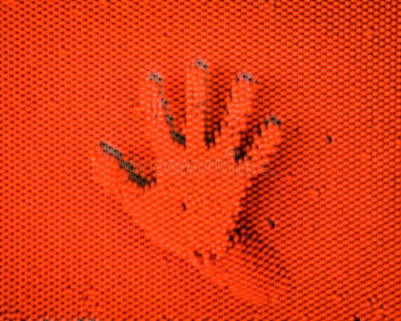 Kunst mit den Händen lizenzfreie stockbilder