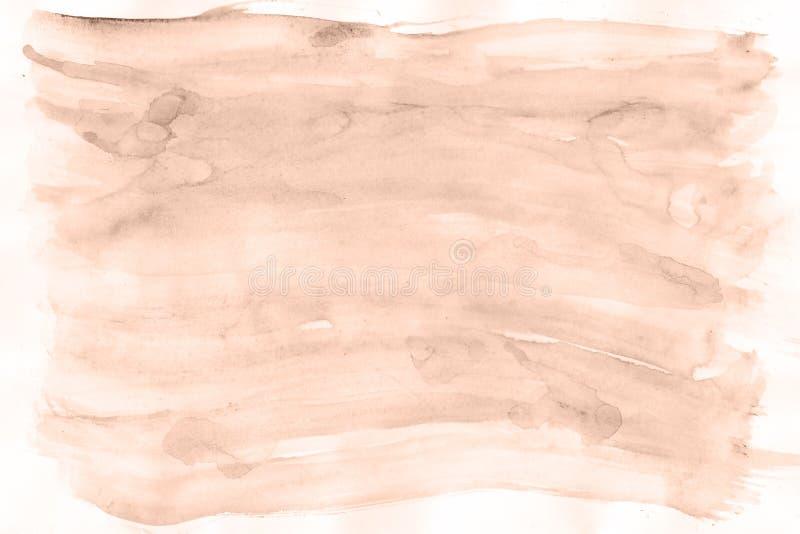 Kunst Schöner Hintergrund Magische rote Brandung des Aquarells vektor abbildung