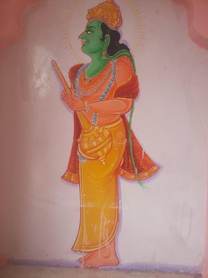 Kunst van Indische cultuur royalty-vrije stock foto