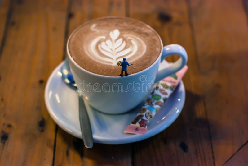 Kunst van koffie royalty-vrije stock foto's