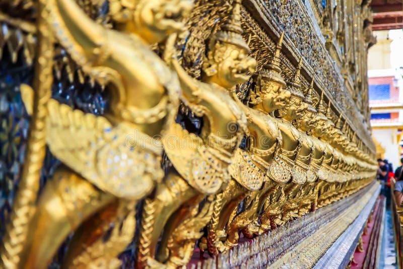 Kunst van tempel stock fotografie