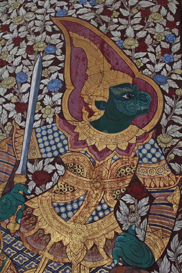 Kunst 2 van Thailand stock afbeelding
