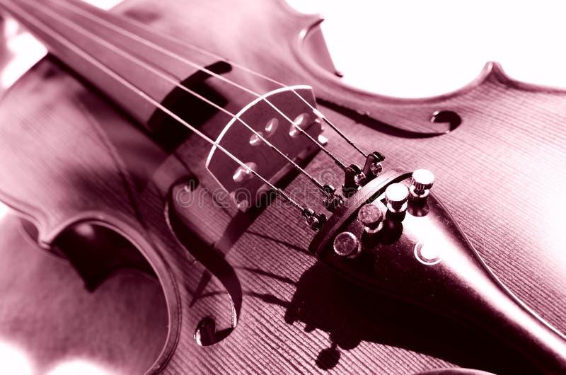 Kunst van viool. stock fotografie