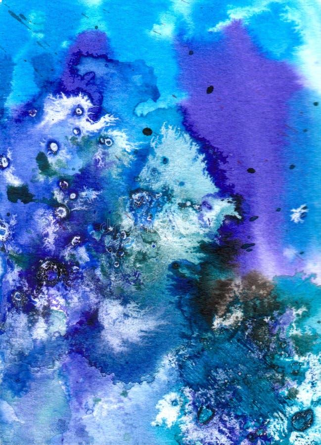 Kunst - Watercolour auf Papier vektor abbildung