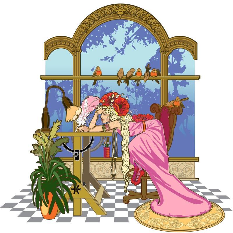 Kunstenaar royalty-vrije illustratie