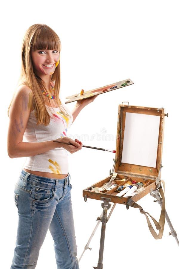 Kunstenaar stock afbeelding