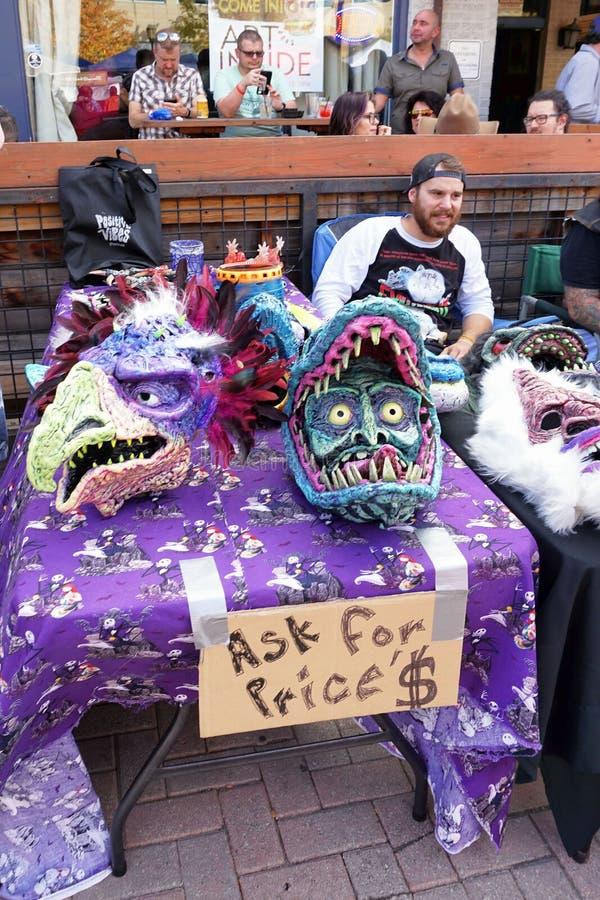 Kunstenaar Fair in Fort Worth, Texas royalty-vrije stock fotografie