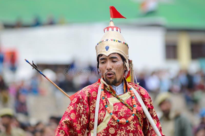 Download Kunstenaar Op Festival Van Erfenis Ladakh Redactionele Fotografie - Afbeelding bestaande uit aziatisch, moed: 29500762