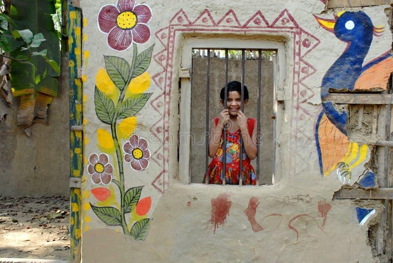 Kunstenaar Village Of India royalty-vrije stock fotografie