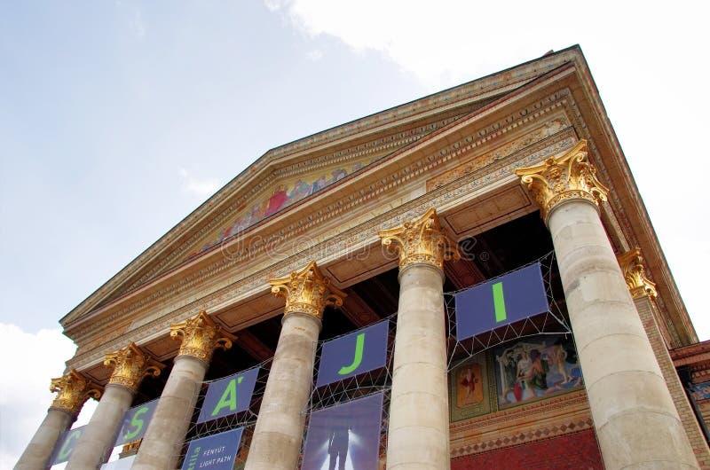 Kunsthalle Будапешт стоковое изображение