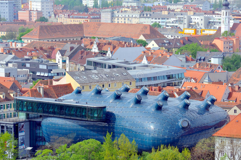 Download Kunsthaus In The City Of Graz, Austria Editorial Photo - Image: 30981951