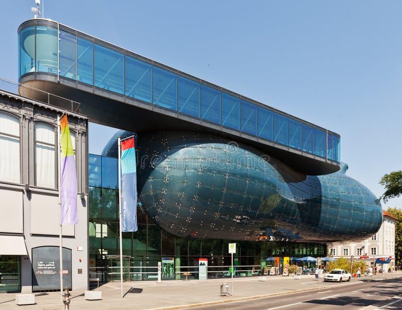 Kunsthaus Graz, Autriche images libres de droits