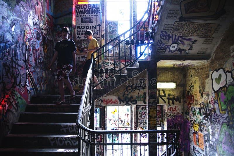 Kunsthaus Tacheles em Berlim fotografia de stock