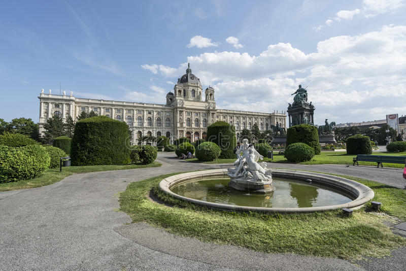 kunsthistorisches μουσείο Βιέννη στοκ φωτογραφίες με δικαίωμα ελεύθερης χρήσης