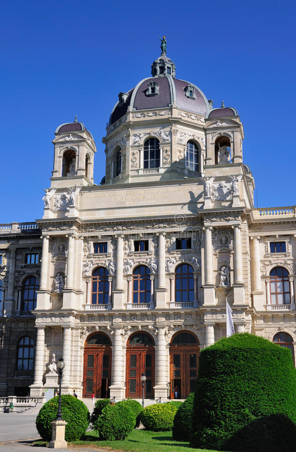 Kunsthistorisches Museum, Vienna royalty free stock photography