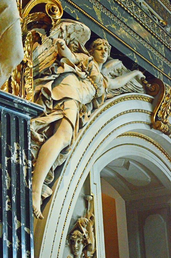 architectural detail  Kunsthistorisches Museum Vienna Cafe Restaurant royalty free stock photo