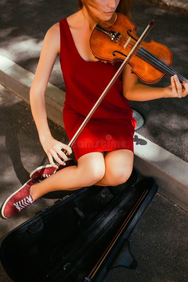Kunsthobby der musikalischen Leistung der Straße lizenzfreie stockbilder