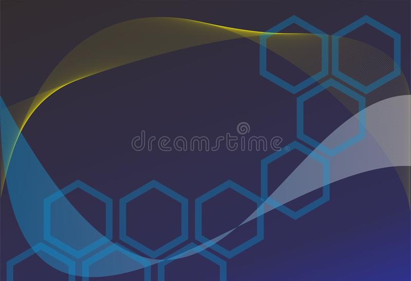 Kunstkünste abstrack Design des Hintergrundes schwarze blaue stockbilder