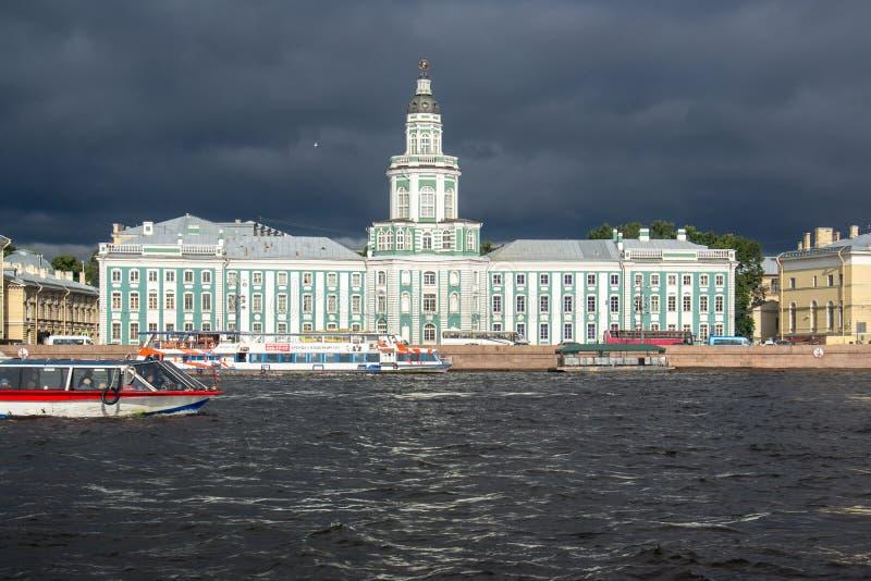 Kunstkamera St Petersburg, museo del mutante, imagen de archivo