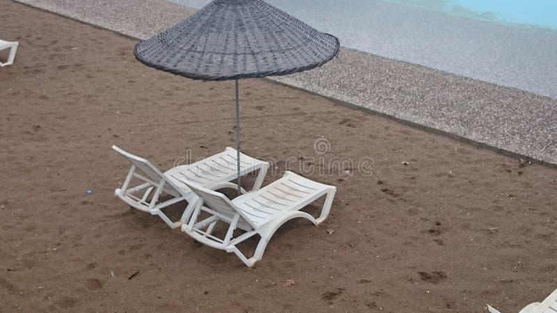 Kunstmatig Strand stock foto