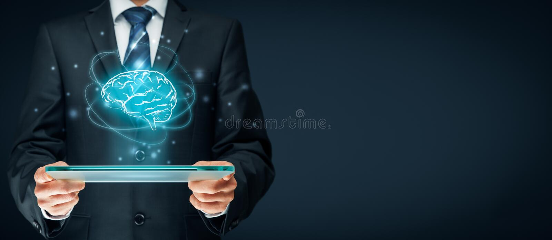Kunstmatige intelligentie royalty-vrije stock foto's