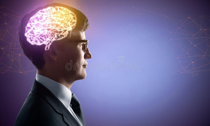 Kunstmatige intelligentie en technologieconcept royalty-vrije stock foto's