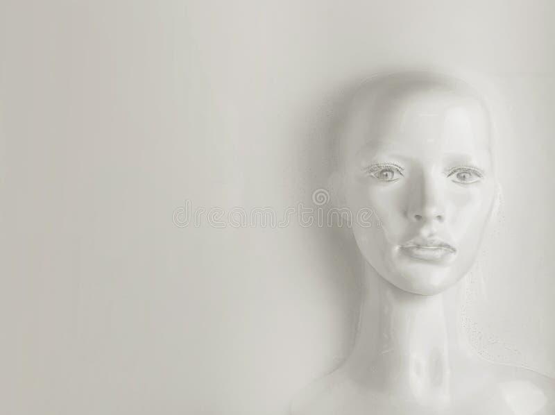 Kunstmatige intelligentieconcept - menselijk wezen royalty-vrije stock foto's