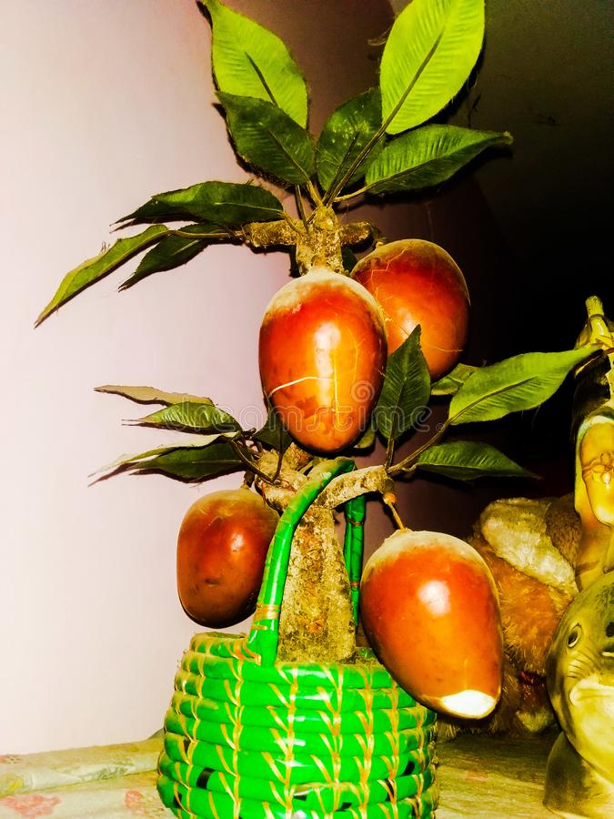 Kunstmatige mango royalty-vrije illustratie