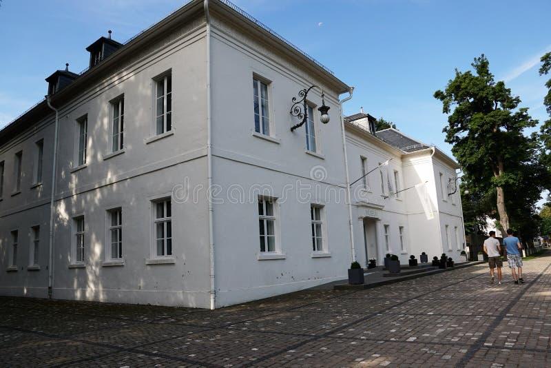 Kunstmuseum im donaueschingen lizenzfreie stockbilder