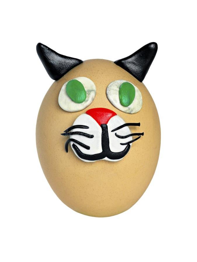 Kunstprodukt der Eier und des Plasticine lizenzfreie stockfotografie