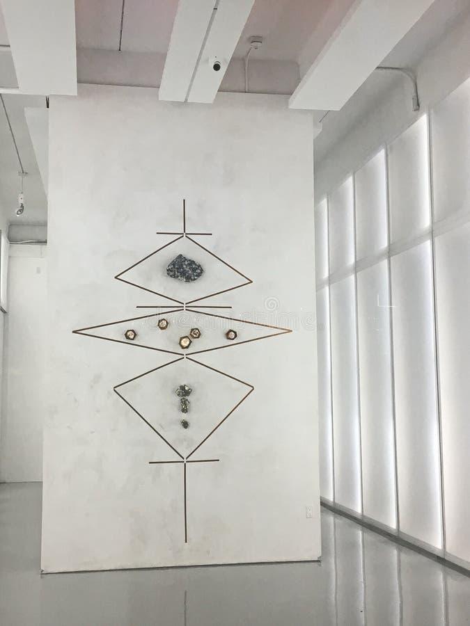 Kunstwerk op de Muur in Heilig Ruimtemiami Florida royalty-vrije stock foto